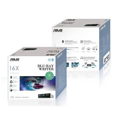 Asus Bw-16d1ht 16x Sata Blu-ray Internal Writer Drive (bl...