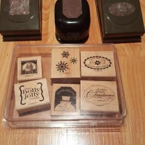 Stampin Up Punches and Stamps plus more