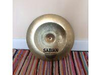 "China Sabian AAX Cymbal 18""46 cm - Video sample"