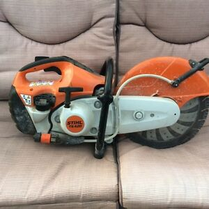 Stihl TS 420 Quikcut Gas Powered Concrete Saw