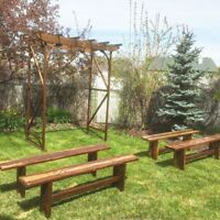 Rustic Wedding/Event Benches