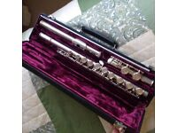 Buffet Crampon Paris Silver Plated Flute Cooper Scale