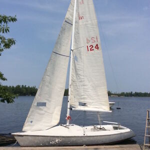 Just In Time For Summer - Impulse 21 Sailboat For Sale! Peterborough Peterborough Area image 3