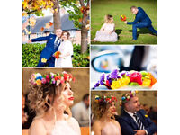 Professional photography for weddings and events