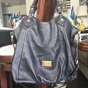 Marc by Marc Jacobs Q Francesca black leather bag
