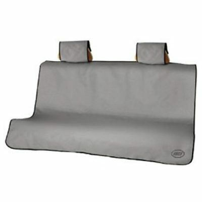 2008-2019 Chevrolet SUV & Trucks Gray Pet Friendly Protective Rear Seat Cover