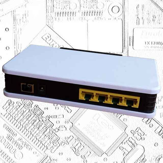 GEPON ONU with 4 GE Ports