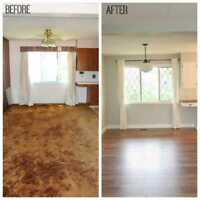 Quality Floor Installers Laminate Hardwood