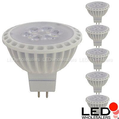 6W MR16 GU5.3 Base Spot LED Light Bulb w Interchangeable Flood Lens 12V (Led Mr16 Flood Bulb)
