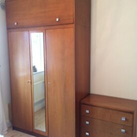 Quality, Vintage/ Retro, Solid Teak Bedroom Furniture