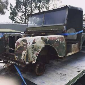 Land Rover series 1   Landrover wanted  for restoration or parts $$$$$ Goulburn Goulburn City Preview