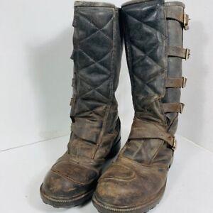 ENDURO - motorcycle  boots - bottes de moto - men size 10 US