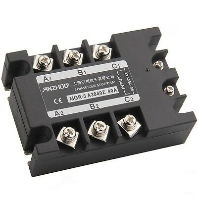 Mgr - 3 A3840z 40 A Three-phase Solid State Relay Ac Control Ac