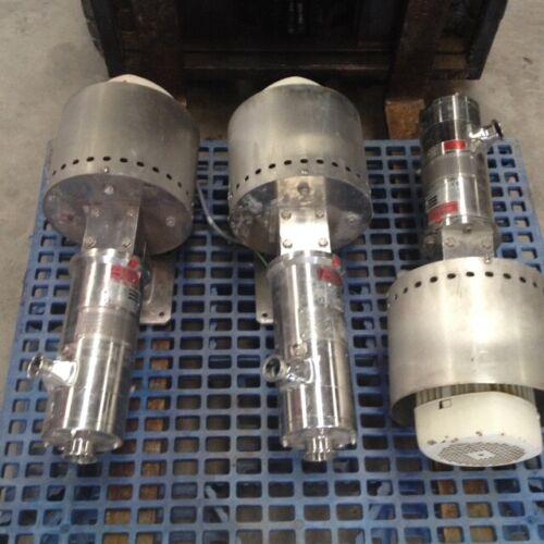 IKA Dispax Reactors model DR2000/5 Inline High Shear Mixing/Milling units