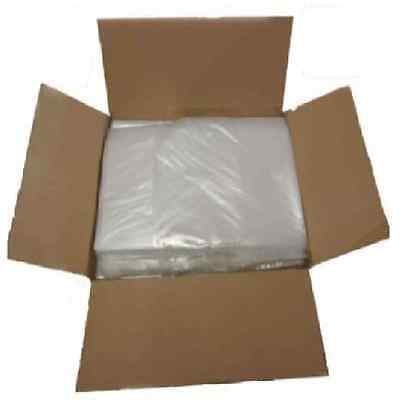 100 Clear Refuse Sacks Bin Bags 150G Rubbish Scrap / Waste Large 18