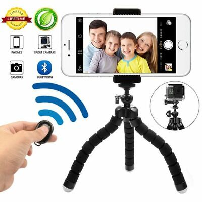 PHONE TRIPOD STAND WITH BLUETOOTH CAMERA REMOTE BRAND NEW