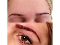 Qualified microblading practitioner