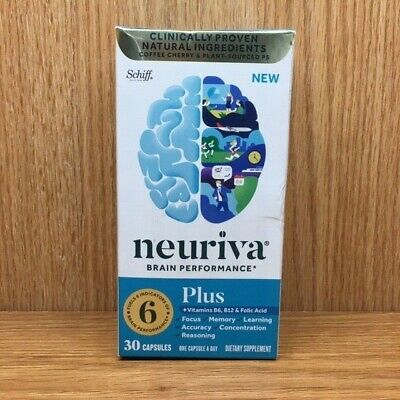 Neuriva Brain Performance 30 capsules Neuriva Plus Expires January 2021