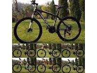 "Gold and Black 2016 Giant Atx Mountain bike ""NEW"" boxed 26""1.95 Medium Size Aluminum Alloy"