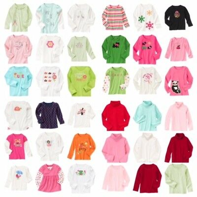 NWT Gymboree Kids Girl Fall/Winter/Spring LS Top Tee Turtleneck Ship Fast