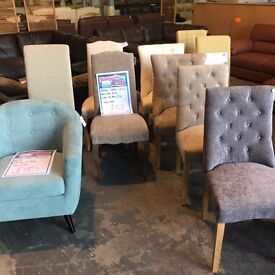 New Various chairs for bedroom or dinning room
