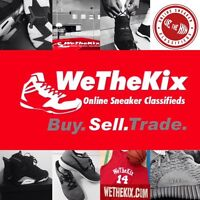 Buy Sell Trade Nike Air Jordan, Adidas Yeezy at WeTheKix.com