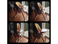 Mothercare highchair with recline and height adjust