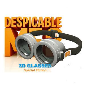 Despicable Me  D Glasses