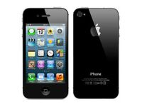 Iphone 4S Model A1387 used Black Unlocked