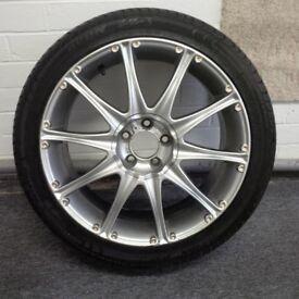Jade 17 inch wheel tyre for GT4 185 Celica