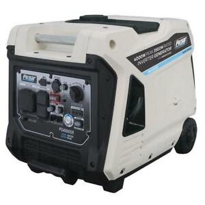 Pulsar 4000w Portable Inverter Generator W Electric Remote Start Pg4000isr