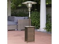 12 KW PATIO HEATER FREE STANDING PROPANE FUELED