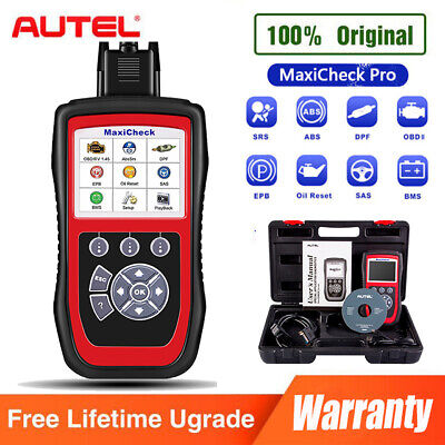 Autel MaxiCheck Pro OBD2 ABS DPF EPB Diagnostic Tool Scanner Better MD802 MD805