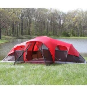 New Ozark Trail 10 person tent!  Tons of room!!!!