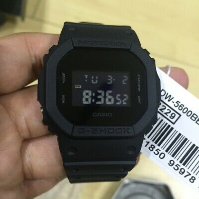 New Casio G-Shock DW5600BB-1 Matte Black Digital Watch comprar usado  Enviando para Brazil