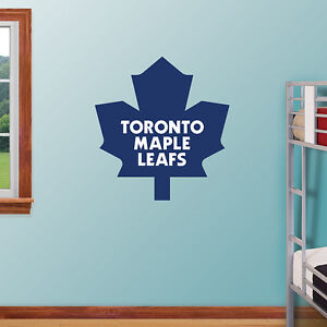 Toronto Maple Leafs Fathead Logo Wall Sticker Reuseable Removabl
