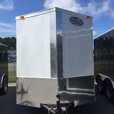 2019 6X12 SA ENCLOSED CARGO TRAILER *5 YEAR WARRANTY*