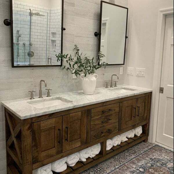 Rustic Bathroom Vanities & Fixtures - Made in Alberta ...