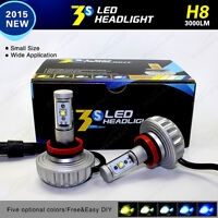 3S Led HiD DIY Fanless Cree Headlight Kit H11 H4 H9 H7 H10