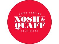 Waiting staff needed for Nosh & Quaff restaurant, Birmingham City Centre