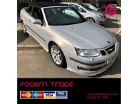 Saab 9-3 Aero CONVERTIBLE 2.0T - Excellent Condition - Amazing Specification!!