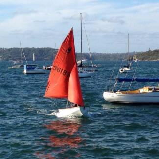 Family sailing dinghy - ideal Father's Day gift Bondi Junction Eastern Suburbs Preview