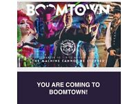 Selling 1x Boomtown Ticket Standard Camping £290