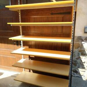 Large quantity of Commercial Quality Shelving