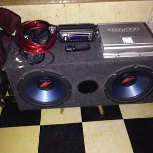 Complete Kenwood 1500 Vehicle Audio system 250 obo
