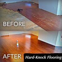 Hard-Knock Flooring & Baseboard Installation