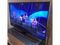 """Samsung UE48JU7000T 48"""" UHD TV 4K with active 3D - perfect condition 5* What HiFi £1,200 late 2015"""