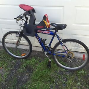 Bike and Child Carrier