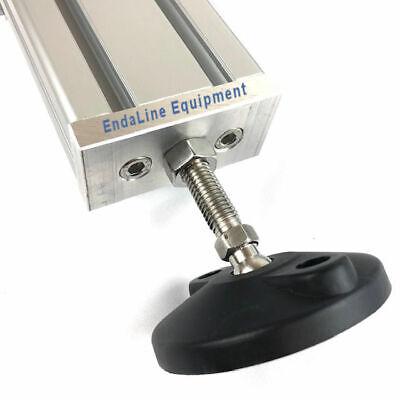 4080 Aluminum Base Plate Connection Plate  Aluminum Profile Extrusion 2 Pcs