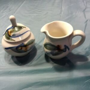 Collection of College Grant pottery- Antigonish